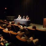 Q & A after opening night at the Gene Siskel FIlm Center
