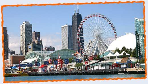 Navy Pier - Attraction - 600 E Grand Ave, Chicago, IL, USA
