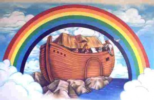 noahs ark rainbow 300x195 Kentucky looks to add another Creation Theme Park